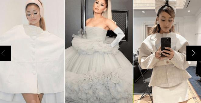 走在过道上时可能会穿上8种婚纱风格的Ariana Grande